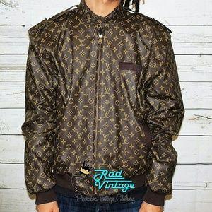 f64a12434e9f Louis Vuitton Jackets   Coats - Louis Vuitton Dapper Dan Members Only  Leather